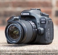 Canon EOS 80D Digital SLR Kit with EF-S 18-55mm f/3.5-5.6 800 km