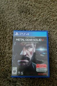 MGS 5 Ground Zeroes PS4 Provo, 84601