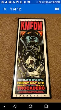 Signed poster Warrenton, 63383