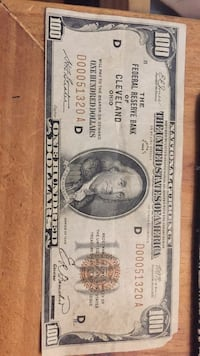 Used 1929 Hundred Dollar Bill Book For Sale In Tallahassee