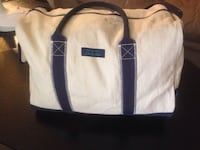 white and black leather tote bag St Catharines, L2M 7P5