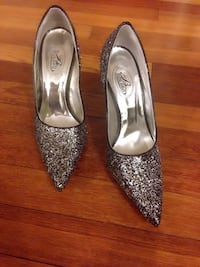 Glitter heels shoes size 7 or 9 available
