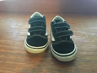 Vans off the wall black toddler sneakers size 6.0 Corpus Christi, 78401