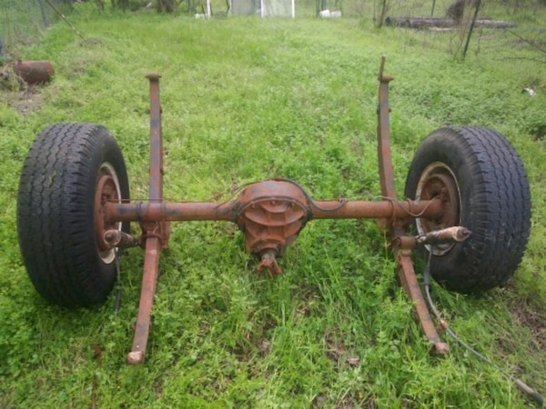 9 inch ford rear end