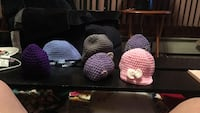 6 knitted caps for babies $8 each Peabody, 01960