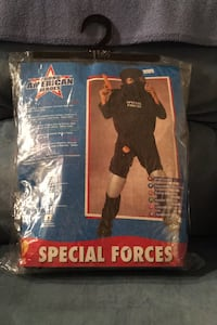 Special Forces Costume...Size is Large Youth Bear, 19701
