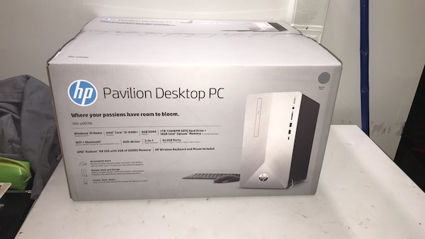 NEGO brand new unopened HP Pavilion PC