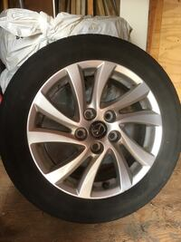 Mazda tires and rims for sale Kitchener, N2M