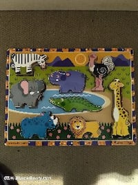 Melissa and Doug Animal wooden puzzle