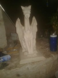 Real cement gargoyle San Antonio, 78223