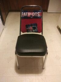 Custom N E Patriots Chair