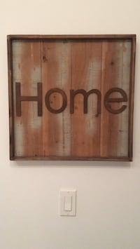 Rustic 'HOME' sign
