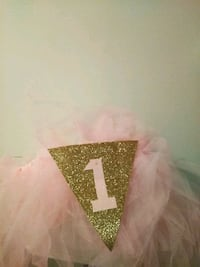 1st birthday tutu for highchair Manassas, 20109