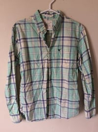 white and green plaid dress shirt London, N5V 1W5