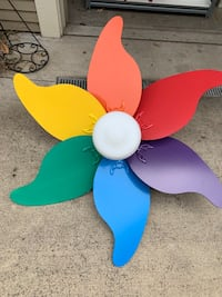 2 matching 5' kids room high quality ceiling fans. $18 ea Philomath, 97370