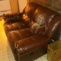 Dual Couch Recliner