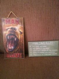 Man cave wood signs (set of two) Freehold, 07728
