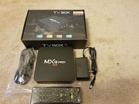 Brand New Android TV box 4k Quadcore $65 firm only Mississauga, L5W 1G9