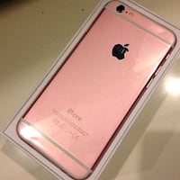 iPhone 6 with box and pink skin Alabama