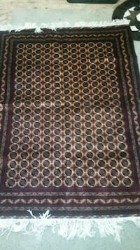 "Reduced Price! 75""x58"" Hand-made wool-on-wool rug Kenduskeag, 04450"