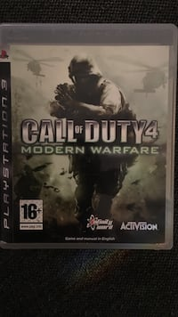 Call of Duty 4 Modern Warfare PS3 spill tilfelle