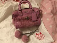 Coach pink furry mini bag (limited edition) Toronto, M2N 7L3