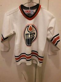 COM oilers jersey kids L signed by George Labrock 3158 km