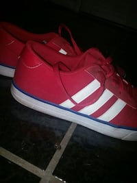 Red Adidas STs size 9 Victoria, V8P 4G2