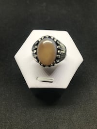 Silver ring with agate stone  Richmond Hill, L4C 3K1