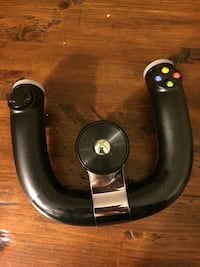 Xbox 360 wireless racing controller
