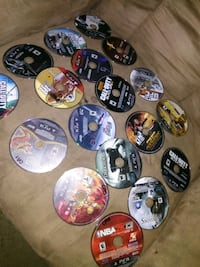 assorted Sony PS3 game discs Country Club Hills, 60478