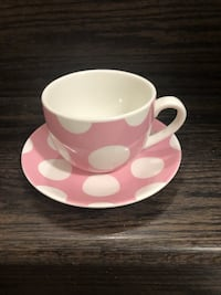 Cup and saucer  Kitchener, N2R 1P6