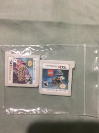 Two nintendo 3ds game cartridges Burtonsville, 20866