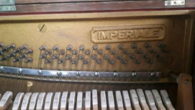 Demonstration /Sales Piano- 44 keys, intact, strings and wieghted keys