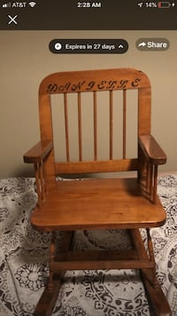 Toddler Rocking chair  Baton Rouge, 70820