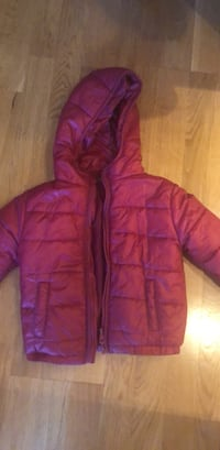 rosa zip-up boble jakke 5937 km