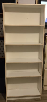 White wooden shelving unit Langley, V2Y 2P9