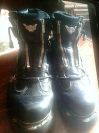 Harley Riding Boots. Men size 10 Innisfil, L9S 1C5