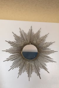 Gold sunburst mirror Centreville, 20120