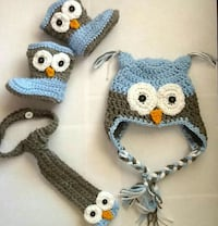 white ; gray ; blue owl knit cap ;with shoes Anaheim, 92801