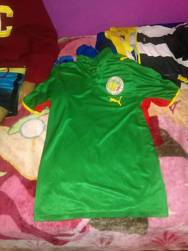 9f023fb6c9e Used green and yellow puma soccer jersey for sale in San Jose - letgo