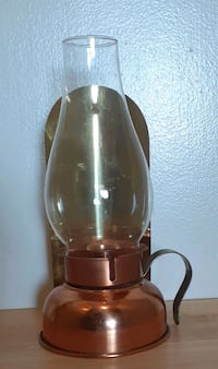 Copper Candle Lamp