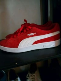 red-and-white Puma low-top sneakers Steelton, 17113