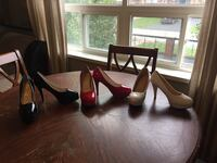 Three pairs brand new heeled shoes Toronto, M6N