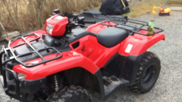 Atv For Sale >> Black And Red Atv