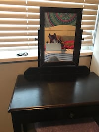 Brown Vanity with stool Maple Ridge, V2X 3A9