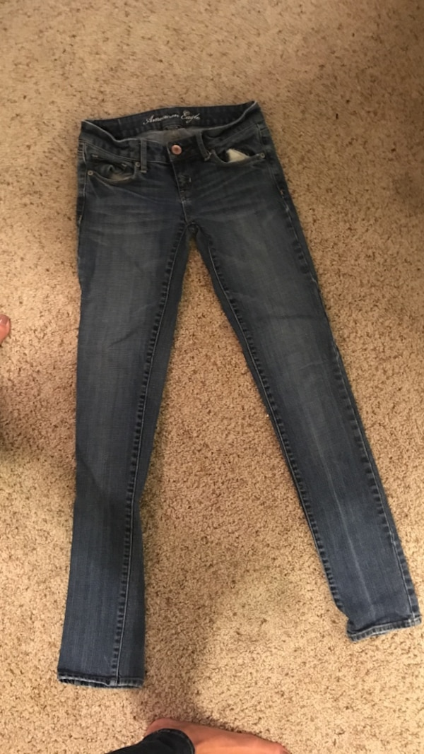 American Eagle stretch jeans size 0