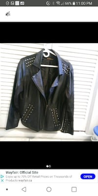 Leather jacket size 18 Laval, H7M 4A2