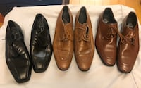 Men brown and black shoes Mississauga, L5B