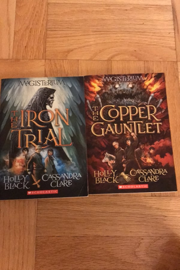 Magisterium Books 1&2: Iron Trial & Copper Gauntlet 5636ef3e-82a2-4a0e-91bd-7cba7127ba5a